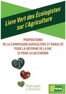 livre Vert de l'agriculture